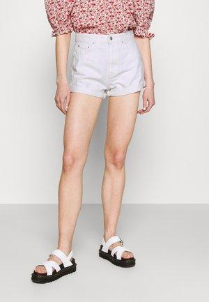 DAGNY MOM - Denim shorts - offwhite