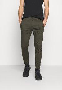 Gabba - PISA DALE PANTS - Trousers - army - 0