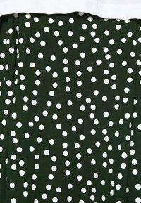 Even&Odd - A-linjekjol - white/green - 4