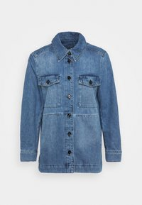 NATHEN - Denim jacket - blau
