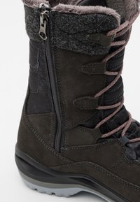 Lowa - BARINA III GTX  - Winter boots - anthrazit/rose - 5