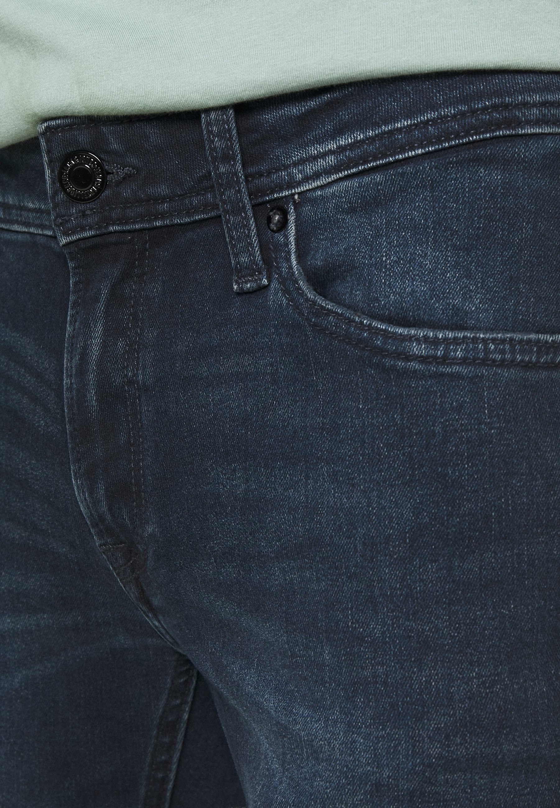 Recommander Pas Cher Vêtements homme Jack & Jones JJILIAM JJORIGINAL  Jean slim blue denim KAy8gP69