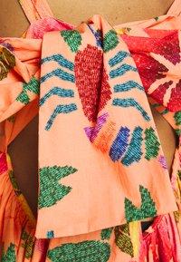 Farm Rio - FLORAL SEA MIDI DRESS - Day dress - multi coloured - 6