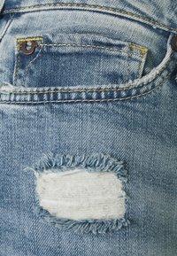 True Religion - NEW HALLE KICK - Flared Jeans - blue denim - 2