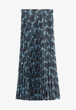 DENO - Áčková sukně - bleu