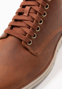 Timberland - BRADSTREET - Lace-up ankle boots - rust - 5
