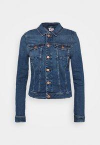VIVIANNE SLIM - Denim jacket - harlow dark blue
