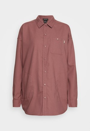 GRACE  - Button-down blouse - rose brown