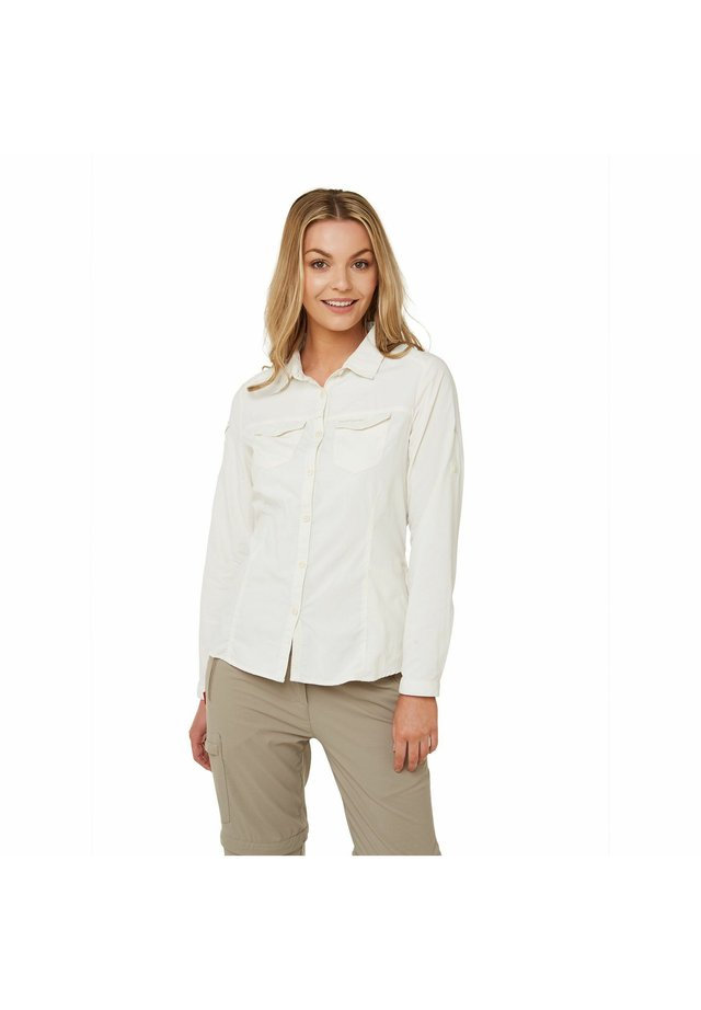 NOSILIFE ADVENTURE  - Button-down blouse - sea salt