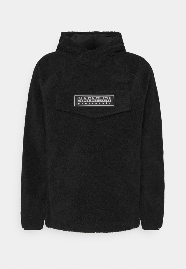 PATCH CURLY UNISEX - Hoodie - black