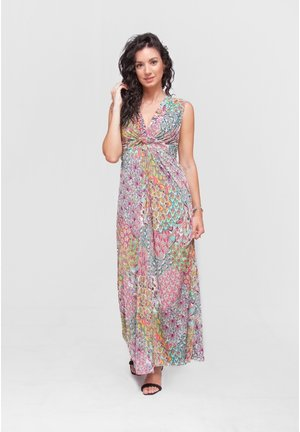 Vestido largo - rosa