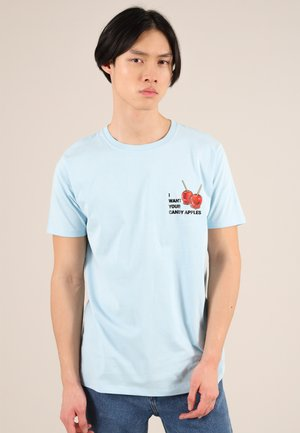 CANDY APPLES - T-shirt con stampa - blue