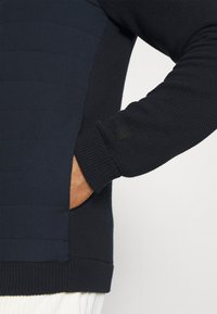 Only & Sons - ONSPRESLEY QUILTED JACKET  - Gilet - dark navy - 3