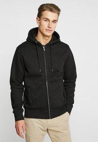 CELIO - MEBELVEST - Zip-up hoodie - black - 0