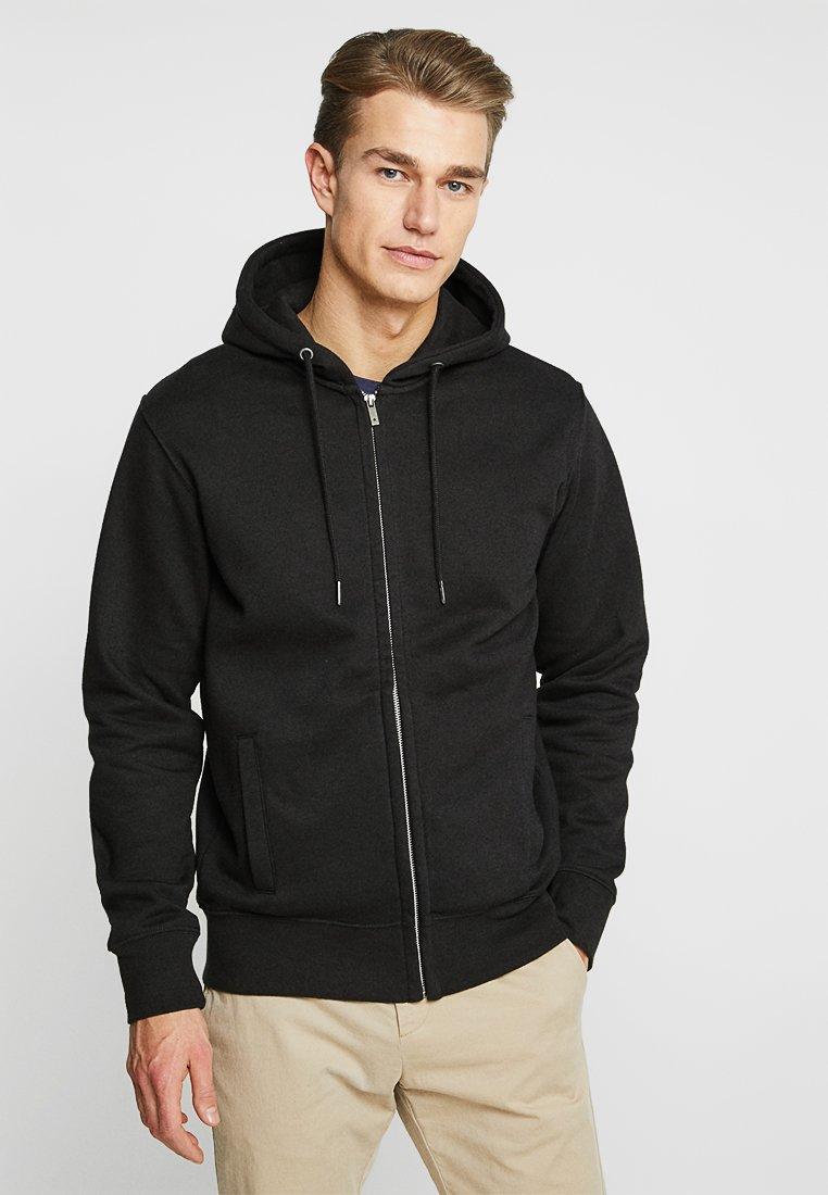 CELIO - MEBELVEST - Zip-up hoodie - black