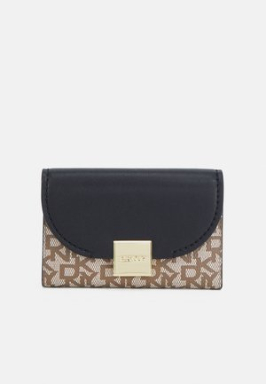 SIENNA TRIFOLD WALLET - Peněženka - chino/black