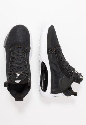 AIR XXXIV BG - Basketball shoes - black/white
