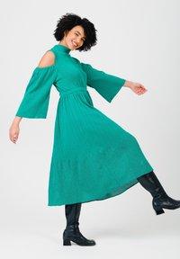 Solai - Jumper dress - ultramarine green - 4