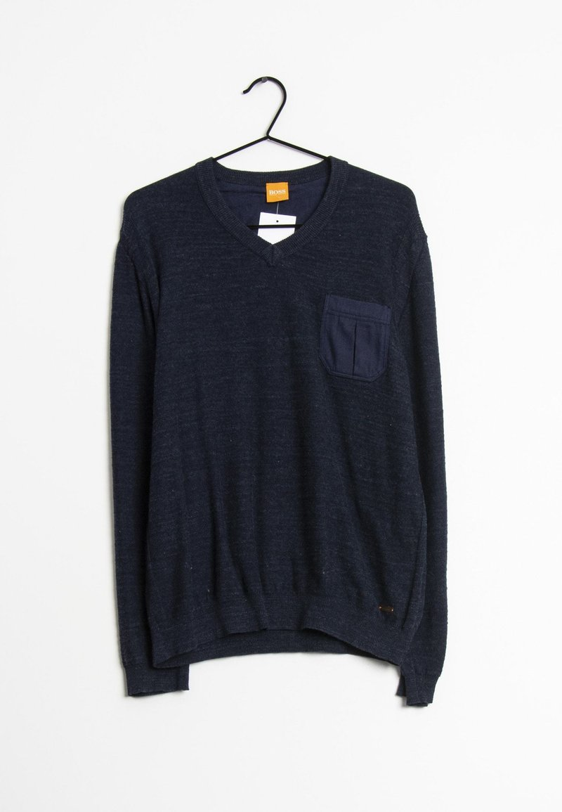 BOSS - Sweatshirt - blau