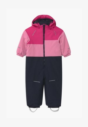 NMFSNOW03 BLOCK - Snowsuit - fuchsia purple