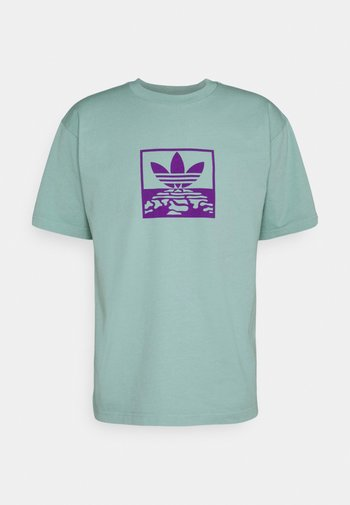OVERDYE TEE UNISEX - T-shirt z nadrukiem - acid mint