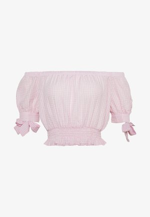 SWEET STRUCTURE TOP - Bluser - pink