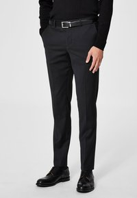 Selected Homme - Pantalon de costume - black - 0