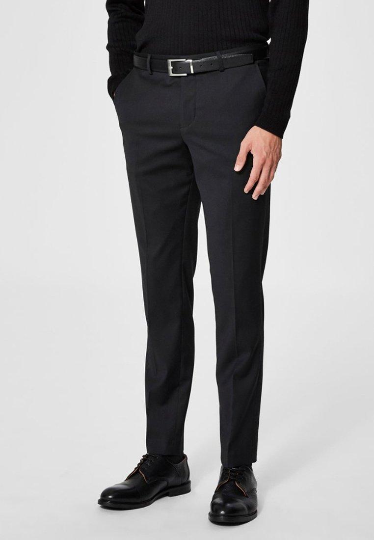 Selected Homme - Pantalon de costume - black
