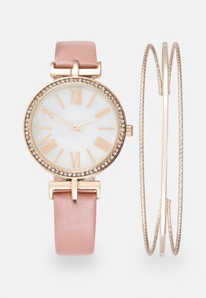 Watch - pink/rose gold-coloured