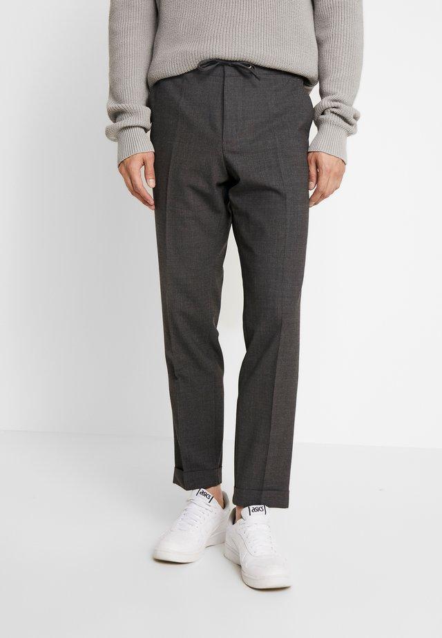 SEBASTIAN  - Spodnie materiałowe - dark grey