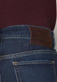 Tommy Hilfiger - SLIM BLEECKER BOWIE BLUE - Jeans slim fit - dark blue - 5