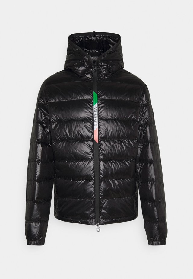 VELUNO - Down jacket - black