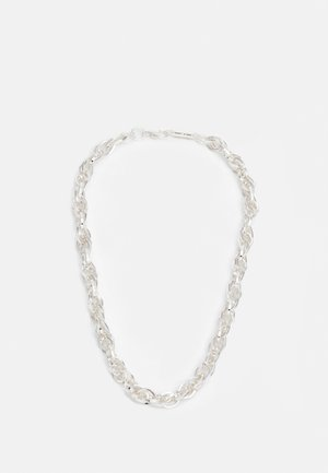 IMPACT CHAIN NECKLACE - Necklace - silver-coloured