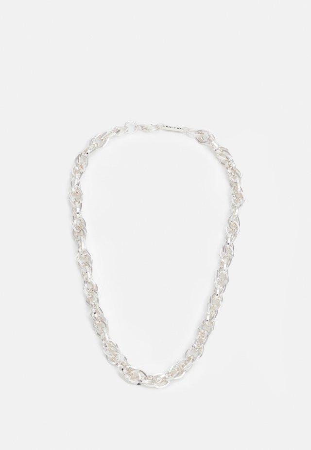 IMPACT CHAIN NECKLACE - Collana - silver-coloured