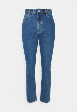 HIGH SLIM - Jean slim - austin blue