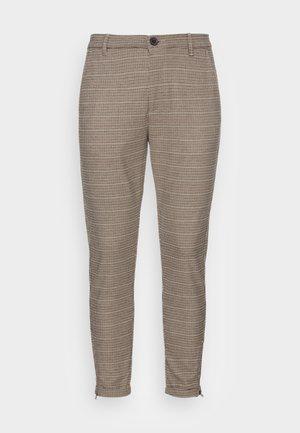 PISA VICHY PANT - Tygbyxor - beige check
