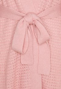 Missguided Tall - WAFFLE STITCH BELTED BALLOON SLEEVE CARDI - Cardigan - rose - 2