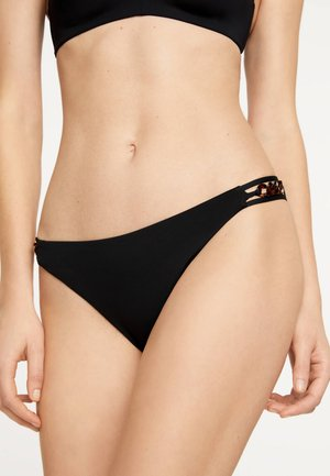 MIT PERLEN - Bikini bottoms - black