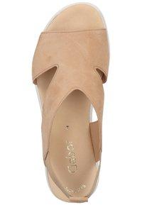 Gabor - Platform sandals - caramel - 3