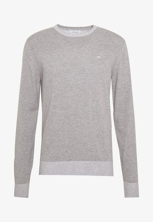 C NECK - Jumper - grey