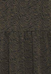 Cartoon - Jersey dress - khaki/black - 2