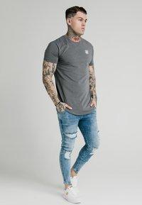 SIKSILK - NEPS TEE - T-shirt basic - grey - 1