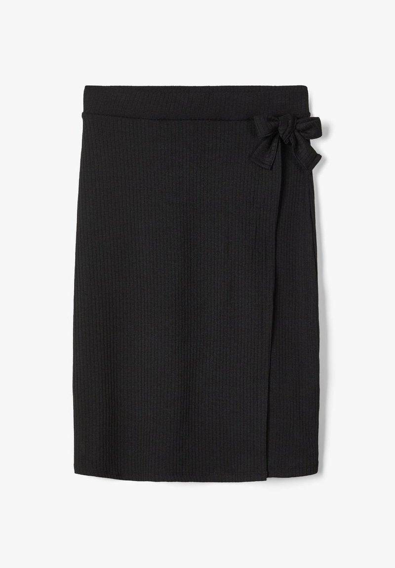 LMTD - WICKEL - Wrap skirt - black