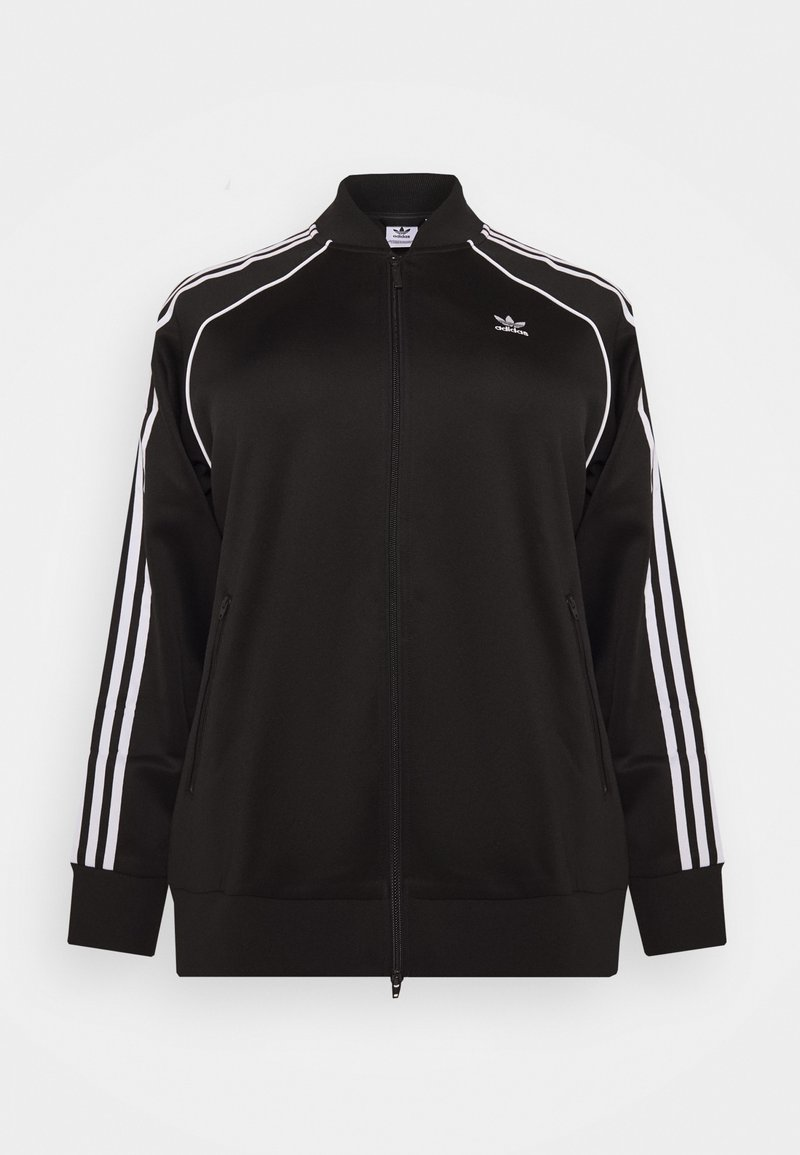 adidas Originals - TRACKTOP - Bomber Jacket - black/white
