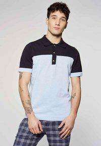 MDB IMPECCABLE - Polo shirt - blue - 0