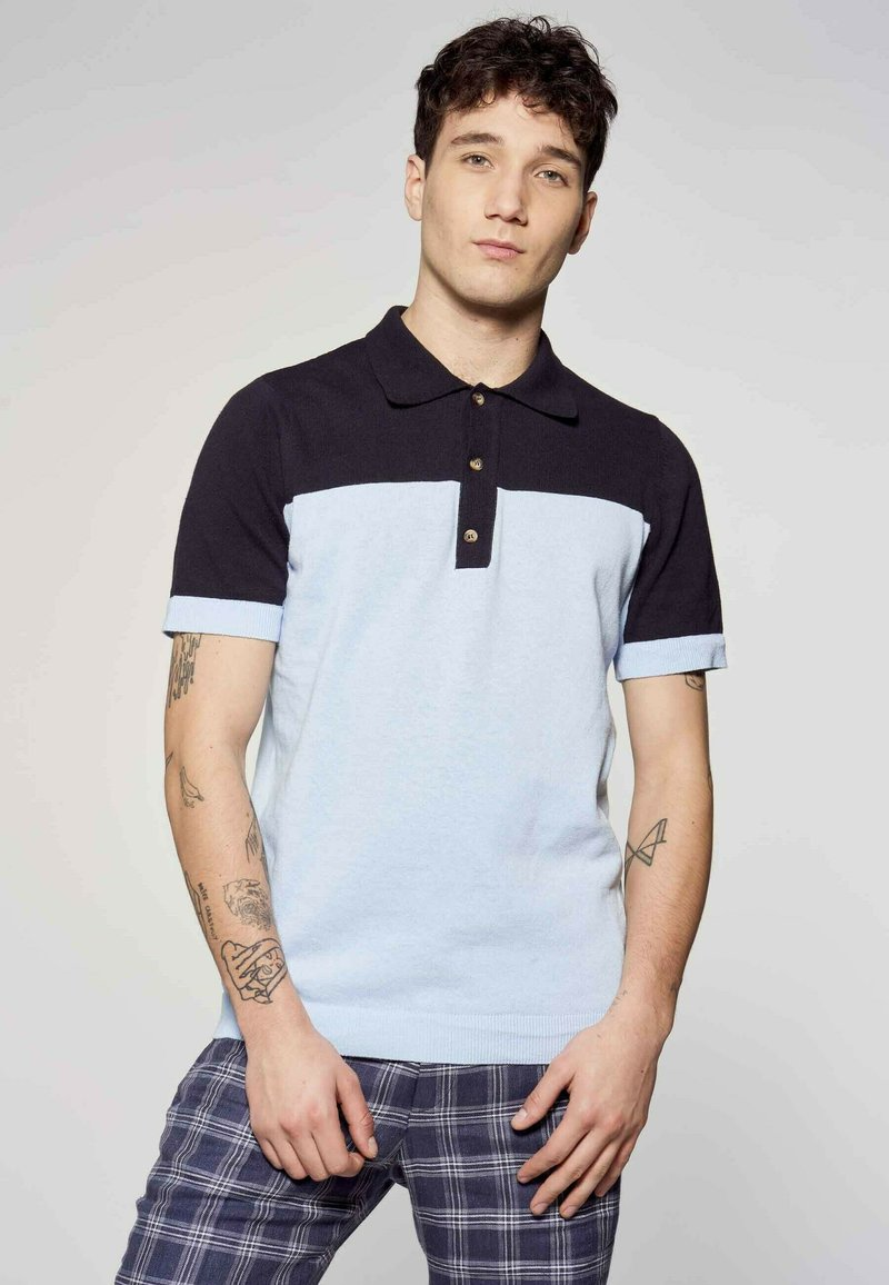MDB IMPECCABLE - Polo shirt - blue