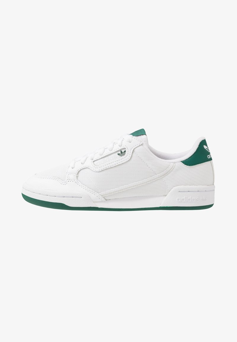 adidas Originals - CONTINENTAL 80 - Trainers - footwear white/grey one/collegiate green
