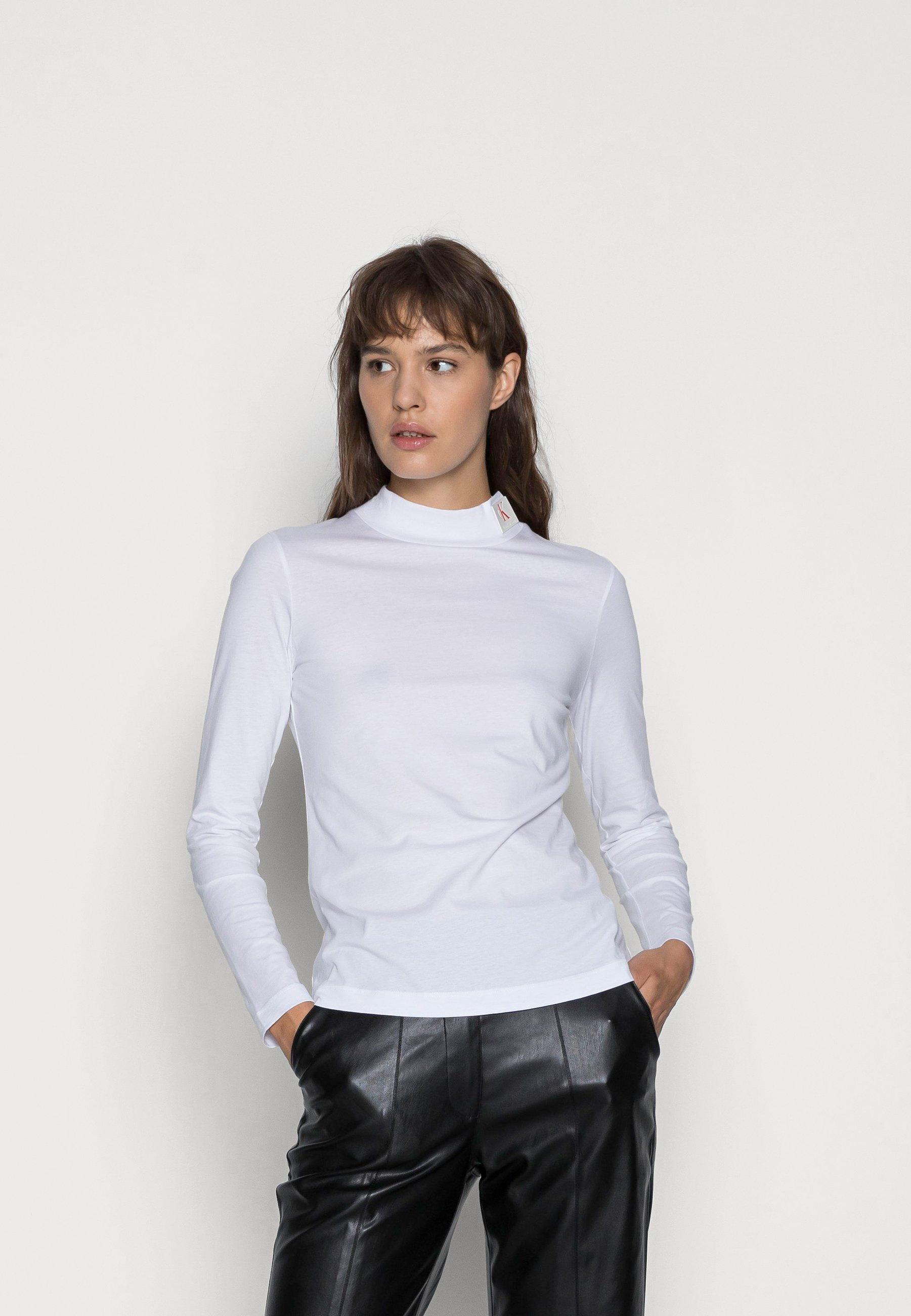 Femme ICONIC MOCK NECK - T-shirt à manches longues