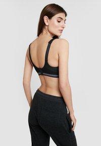 Schiesser - HIGH IMPACT - Sports bra - black - 2