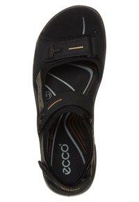 ECCO - OFFROAD - Walking sandals - black/mole/black oil - 6